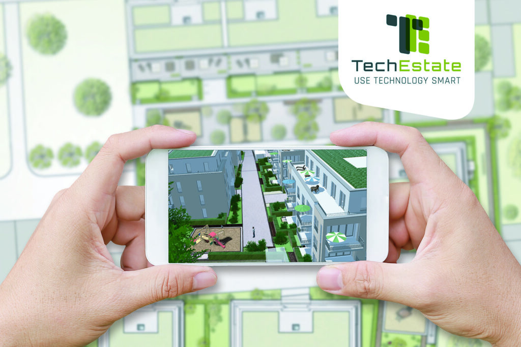 The TechEstate team has developed an app that allows users to virtually walk through a construction project. Source: TechEstate
