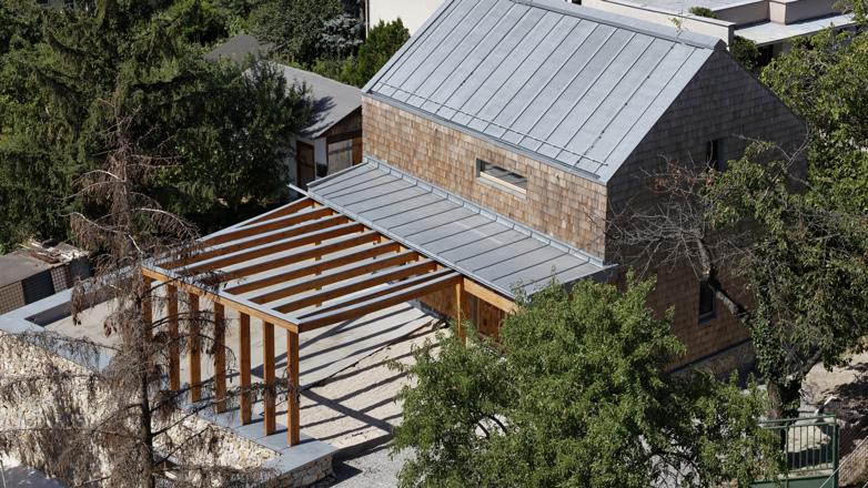 Dach-Zink-Fassade-Holz